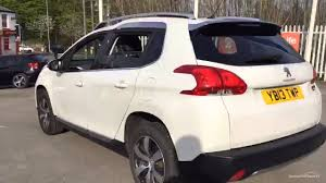 peugeot white peugeot 2008 e hdi allure white 2013 youtube
