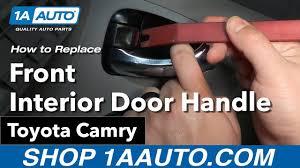 toyota camry interior door handle how to replace install interior door handle 09 toyota camry