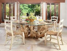 tree trunk dining table tree trunk table base pedestal table base dining room beach style