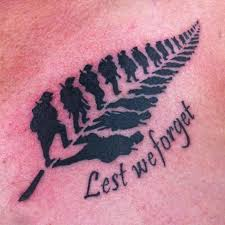 a very cool and unique nz tattoo newzealand