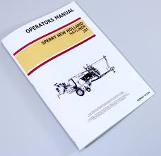 new holland 281 hayliner square baler owners operators manual