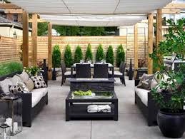 Backyard Design Ideas For Small Yards Best Backyard Patio Style In Small Place Under Pergolla Part Of