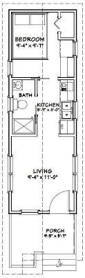 tiny house plans under 300 sq ft 10x30 tiny house 10x30h1a 300 sq ft excellent floor plans