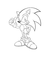 sonic coloring pages coloringsuite com