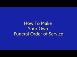 make your own funeral program how to make funeral program in microsoft word