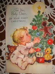 baby u0027s 1st christmas card by marjorie cooper new arrivals