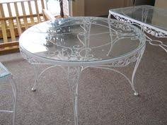 Wrought Iron Patio Furniture Manufacturers Table And Chairs Meadow Rose Pinterest Wrought Iron Iron