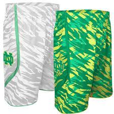 notre dame premium replica camo basketball shorts it s march