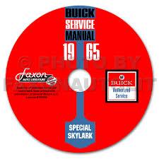 1965 buick special u0026 skylark repair shop manual original