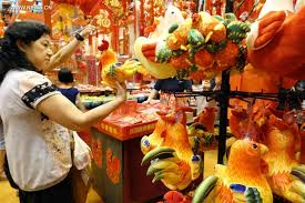 Lunar New Year Decoration Singapore by Markets Start Selling Goods For Upcoming Lunar New Year In