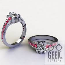 r2d2 wedding ring alliance engagement ring dot jewelry jewelry