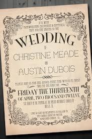 vintage wedding invites 21 fabulous vintage wedding invitations