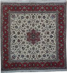 6 X 7 Area Rug 6x7 Squarish Wool U0026 Silk Persian Tabriz Iran Rug Ebay