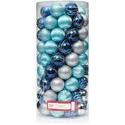 125 club pack of shatterproof palace silver blue