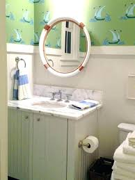 themed mirror alluring nautical bathroom mirror bassturdz themed