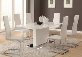 Gloss White Dining Table And Chairs Dining Table And White Dining Table Set High Gloss White