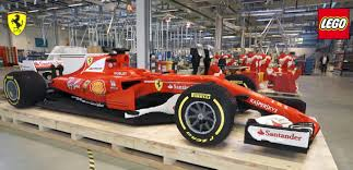 lego porsche life size it took 350 000 lego bricks to make this f1 ferrari race car