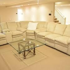 Natuzzi SpA Red Sectional Sofa  EBTH - Hillcraft furniture sofa