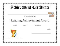 certificate pdfs achievement