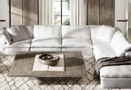 restoration hardware cloud sofa reviews restoration hardware sofas review within resto 19484