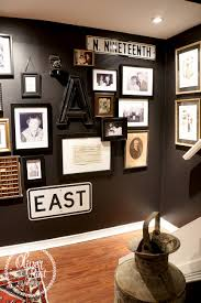 love this dramatic black paint color oliver and rust happy home