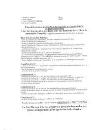 demander acte de mariage mariage franco marocain afficher le sujet liste pour le