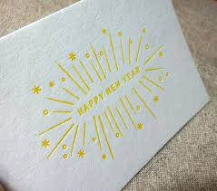 happy new year note cards 147 best letterpress cards images on