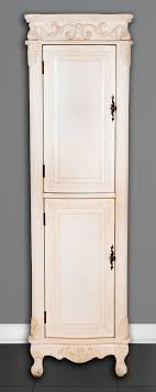 antique white corner cabinet furniture linen cabinet white corner linen cabinet linen