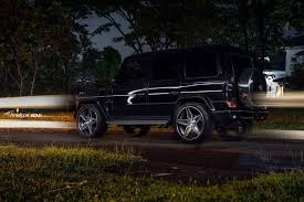 black mercedes g class adv5s deep concave cs adv 1 wheels