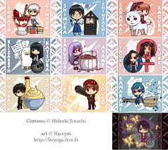gintama gintama chibi collection by nacrym on deviantart