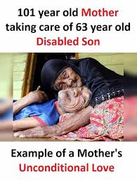 Mother And Son Meme - dopl3r com memes 101 year old mother taking care of 63 year