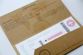 ticket wedding invitations inspirational wedding invitations flight ticket wedding