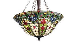 Stained Glass Ceiling Light Ls Style Stained Glass Ls
