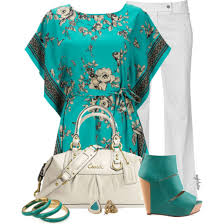 turquoise blouse shoes turquoise shoes white white purse turquoise shirt