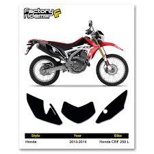honda 250 2013 2014 honda crf 250 l dirt bike graphics custom number plates