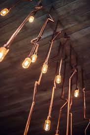 copper pipe light fixture copper plumbing pipes wired for lighting oh the possibilities