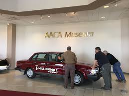 volvo north america headquarters million mile volvo becomes the aaca museum u0027s latest hemmings daily
