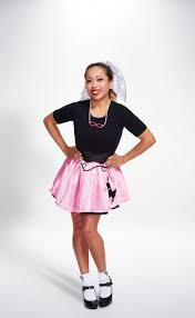 50s Halloween Costumes Poodle Skirts 50 U0027s Poodle Skirt Womens Halloween Costumes Savers