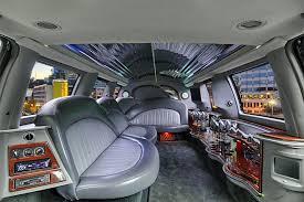 Excursion Interior Chauffeured Stretch Excursion Suv Limo Service In Portland