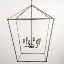 Lantern Chandelier Lighting Iron Vegas Lantern Chandelier