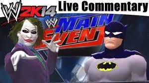 Ps3 Wwe 2k14 Batman Vs The Joker Wrestling Match Mulitplayer With