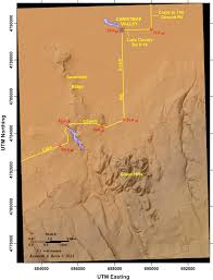 Oregon Volcano Map by Beyond Newberry Ancient Lakes Maar Volcanoes And A Dash Of