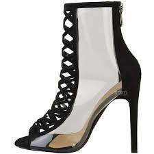 high heels designer womens high heel perspex clear sandals designer