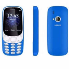 Light Blue Color by New Nokia 3310 Dual Sim 2017 Edition With Camera Boxed Light Blue