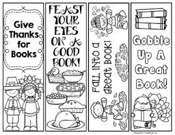 thanksgiving printable bookmarks by edugator s essentials tpt