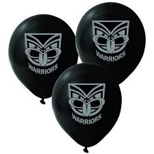 New Years Eve Decorations Au by Balloons Nrl New Zealand Warriors 25 Pk Decorations Party