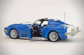 lego sports car 1969 corvette stingray lego rig