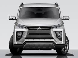 mitsubishi delica 2016 interior 2018 mitsubishi delica previewed by concept heading to tokyo motor