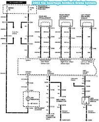 2002 kia sportage antilock brake system wiring diagram