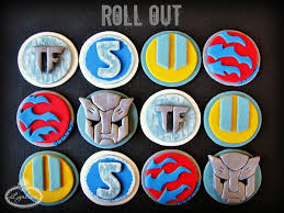 transformers cake toppers these transformers cakes and cupcakes are ready to roll out